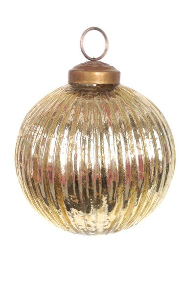 arty set of 2 gold glass ball ornaments available at nordstrom
