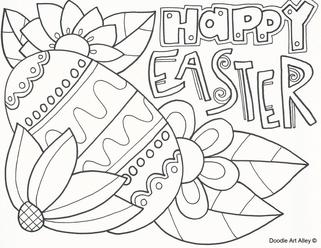Picture Easter Coloring Book Easter Coloring Pages Easter Printables Free