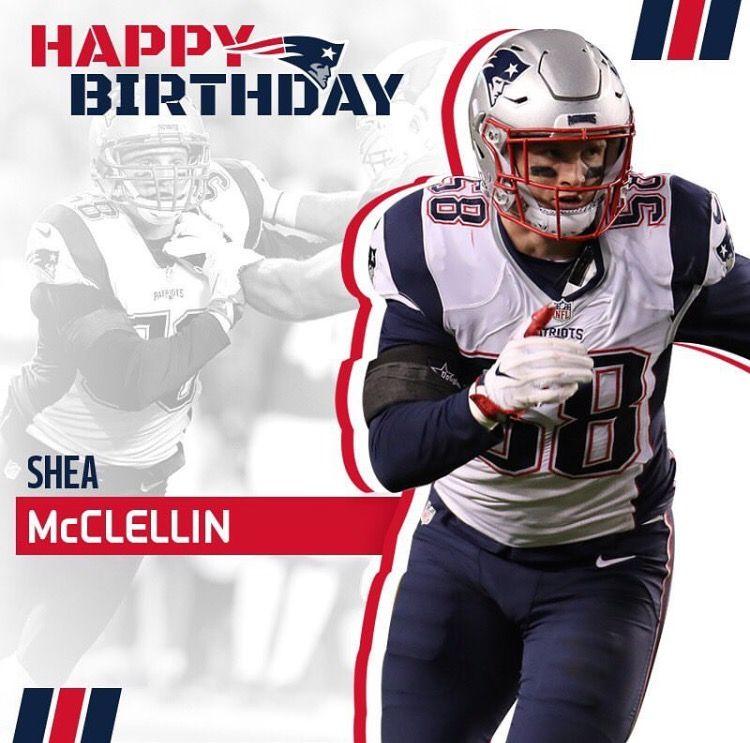 Happy Birthday Shea #NEPats #LB #LetsGo
