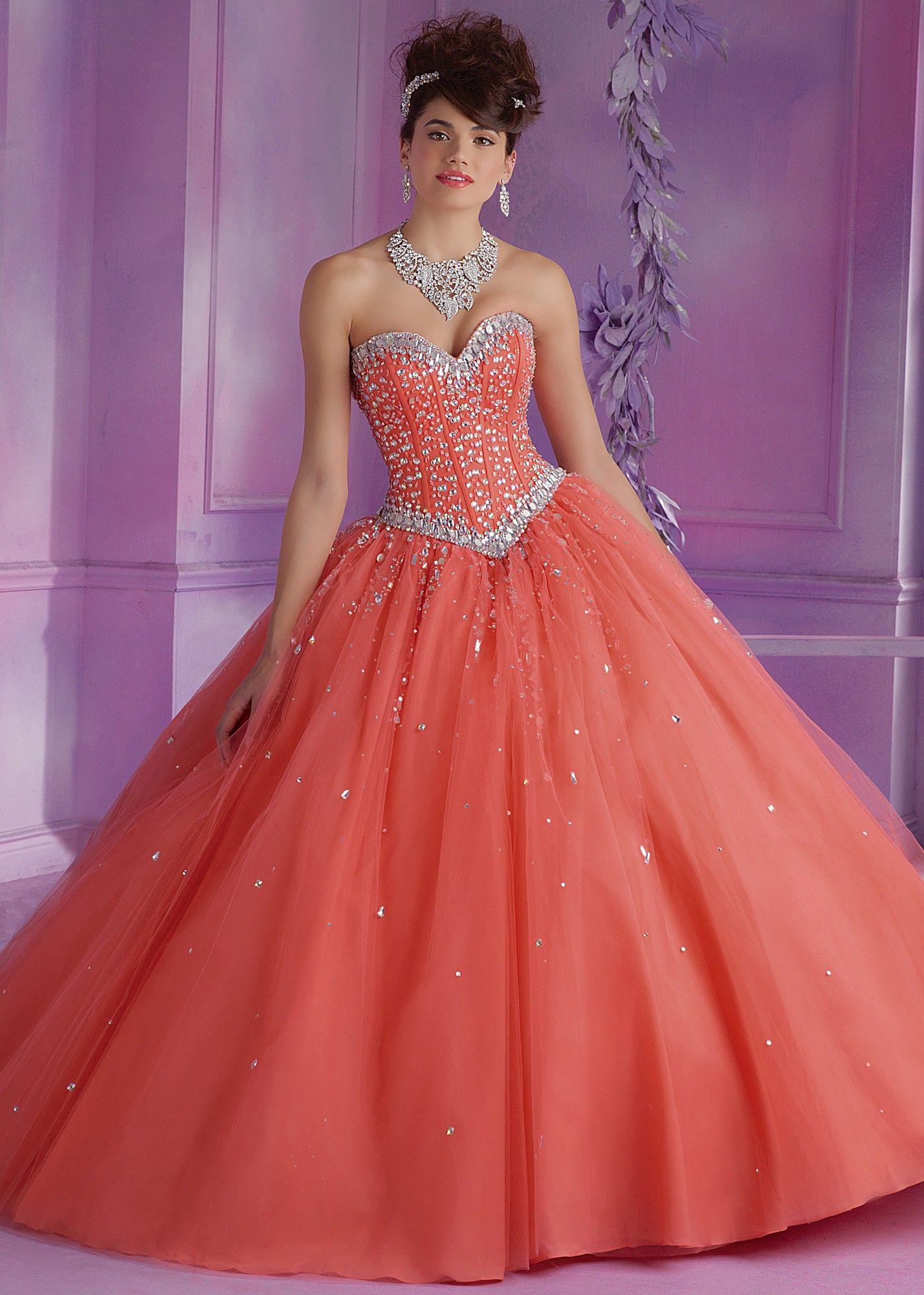 Mori Lee 89012 Sweetheart Quinceanera Dress | Bälle, Feuer und Kleider