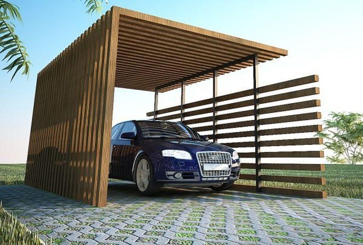 54 Cool Car Garage Design Ideas For Minimalist Home in