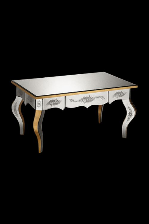 Luxurious Art Deco Tables From Italy