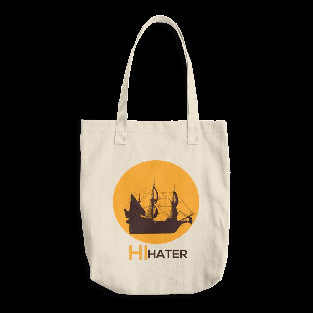 Hi Hater Cotton Tote Bag