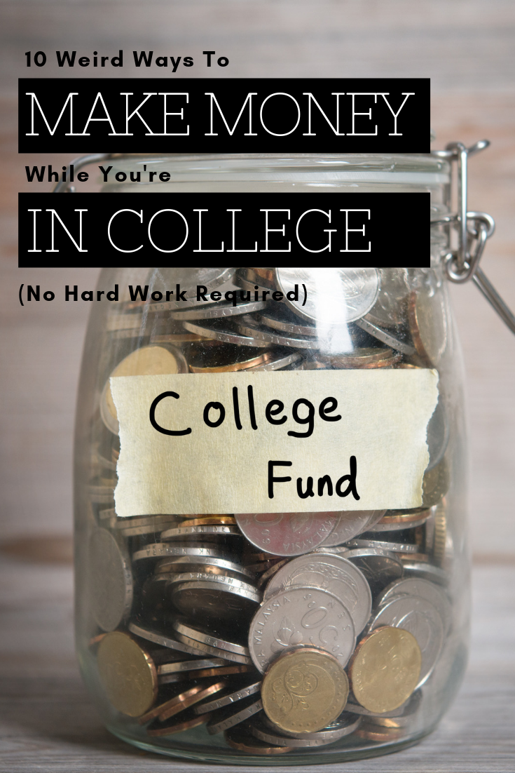 Try These 10 Side Hustles To Make Money In College College Freshman Advice College Life Hacks College Planning