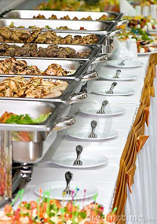 Banquet meals served on tables | postres | Pinterest | Banquet ...