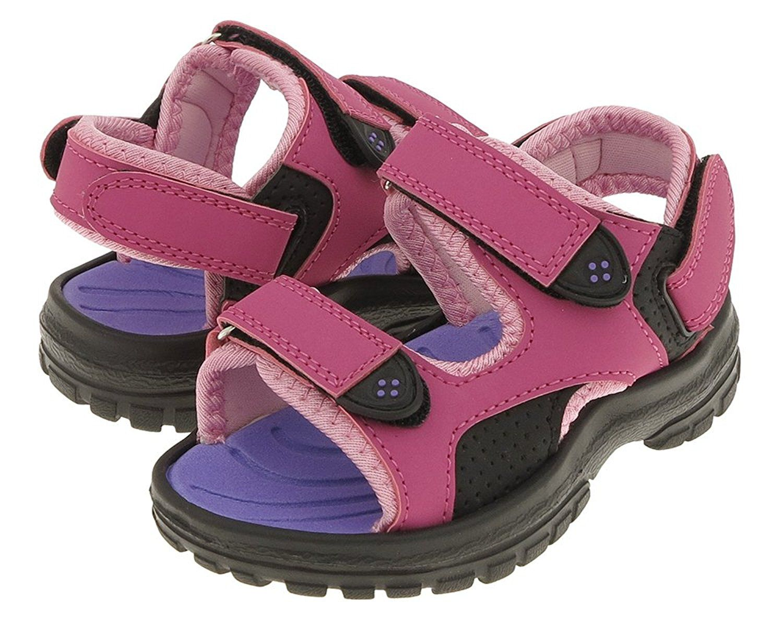 55415996ad25 Capelli New York Velcro strap upper Toddler Girls Sport Sandal     For more  information