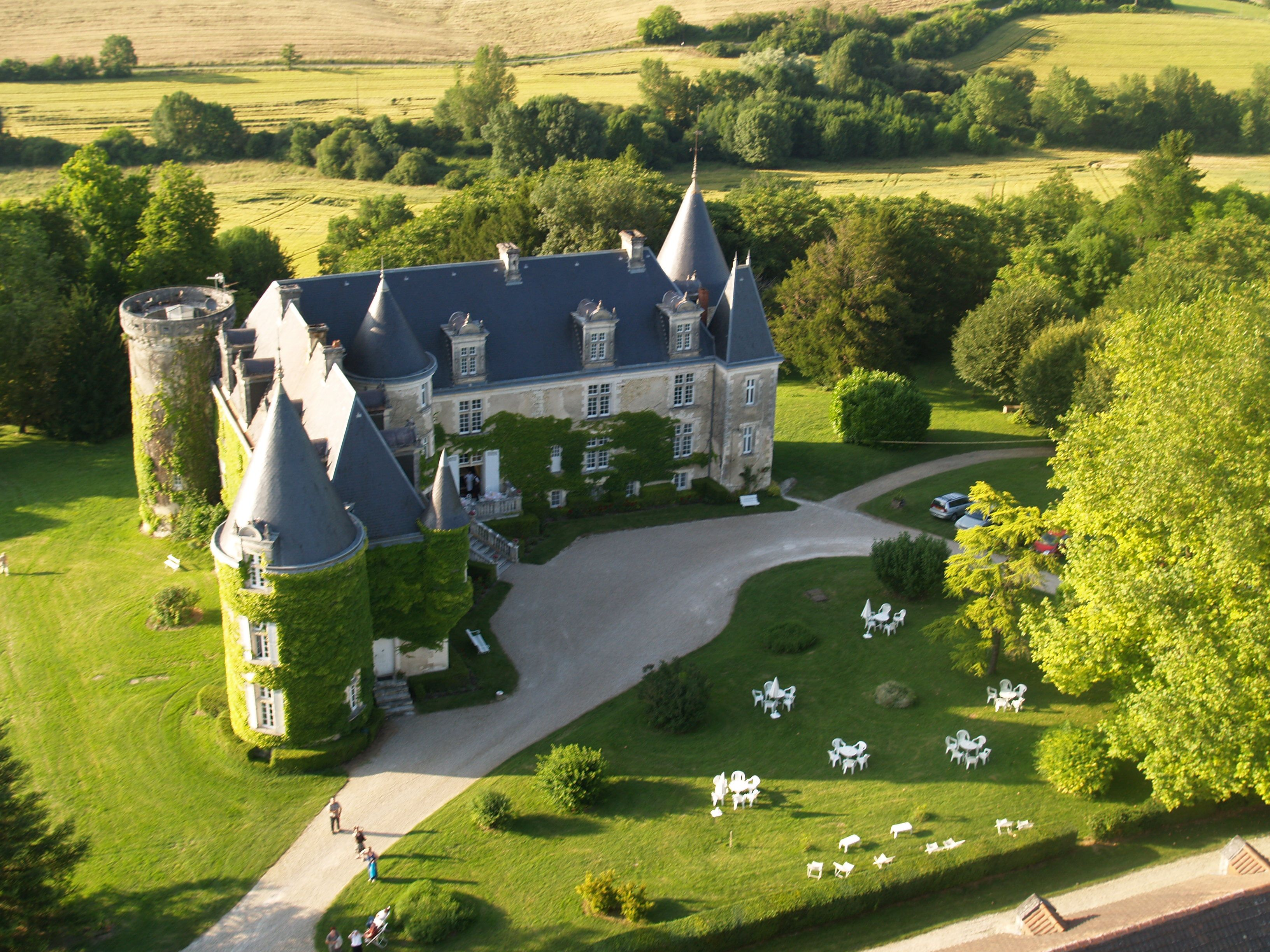 Top Five Castle Hotels in France