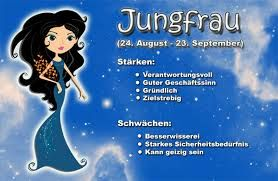 horoskop jungfrau 24 august bis 23 september spr che und zitate sternzeichen sternzeichen. Black Bedroom Furniture Sets. Home Design Ideas