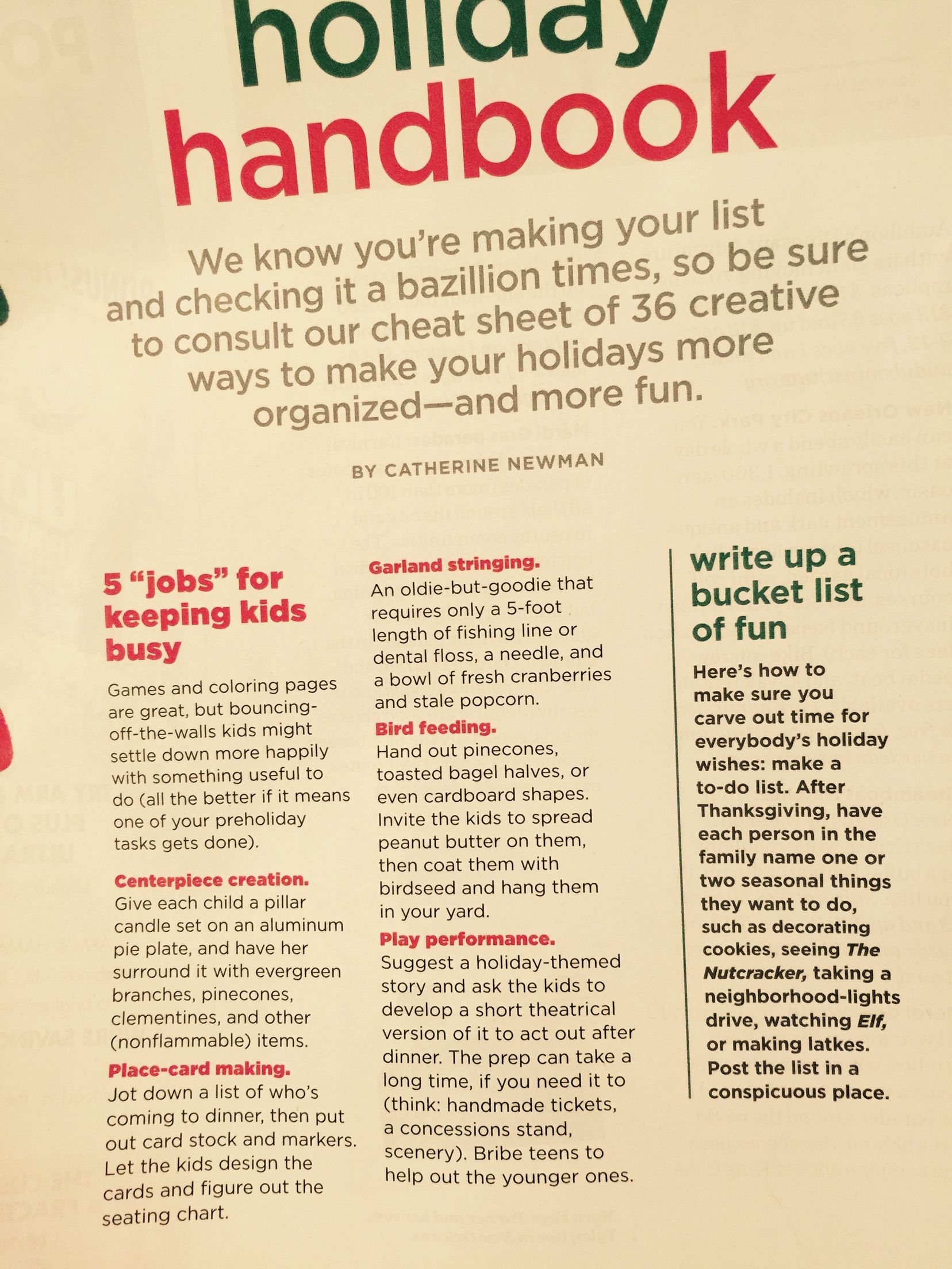 Holiday handbook Christmas Pinterest
