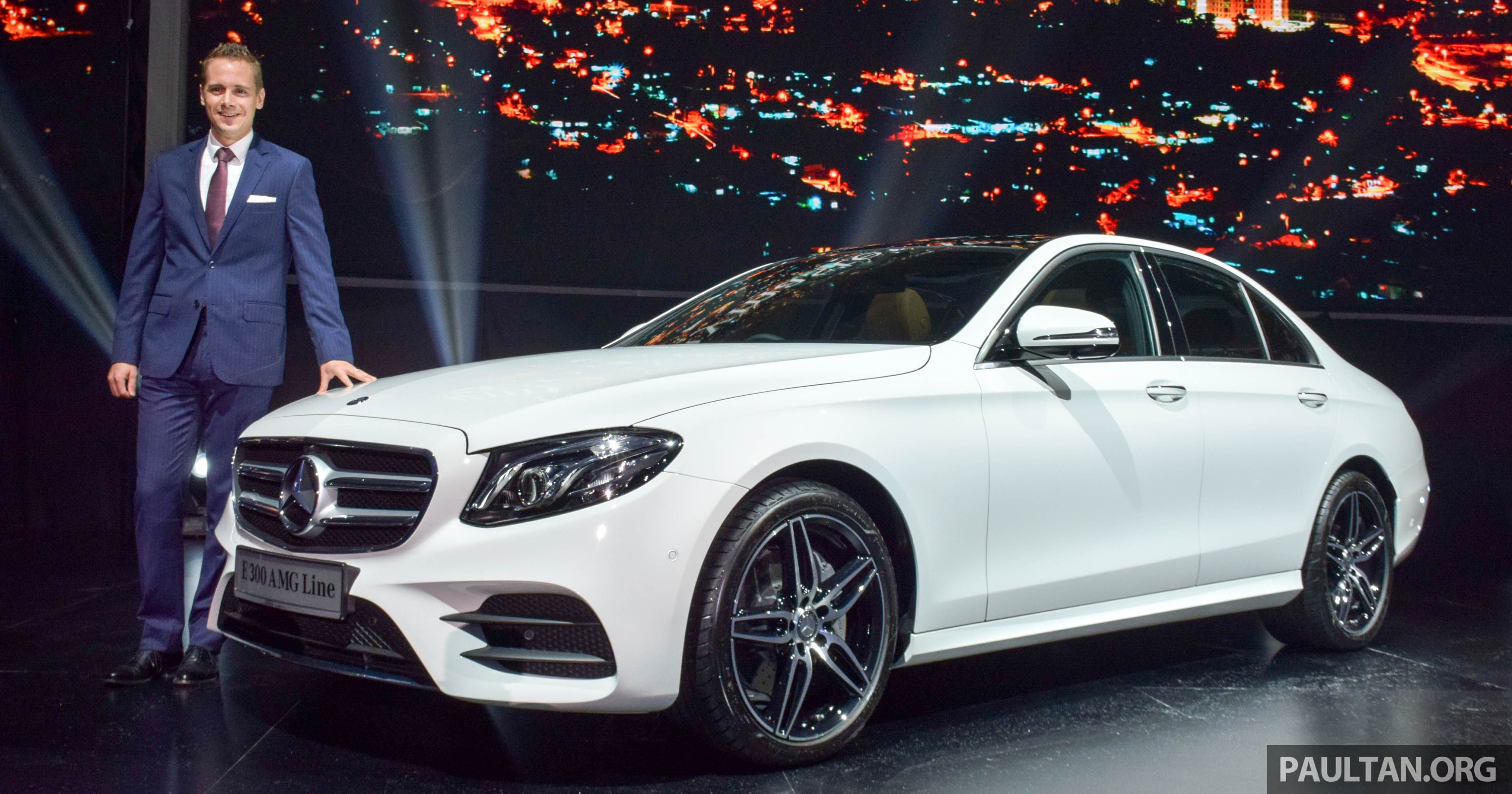 Mercedes Benz Malaysia has officially introduced the W213 Mercedes