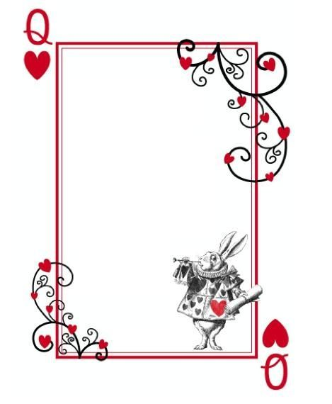 These are printable templates so we could start with these and free alice in wonderland party invitations template comment cards stopboris Gallery
