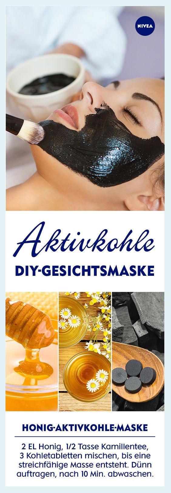Aktivkohle Gesichtsmaske Selber Machen