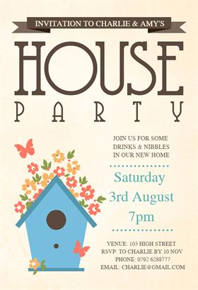 Butterflies Flowers treehouse PARTY Pinterest Housewarming