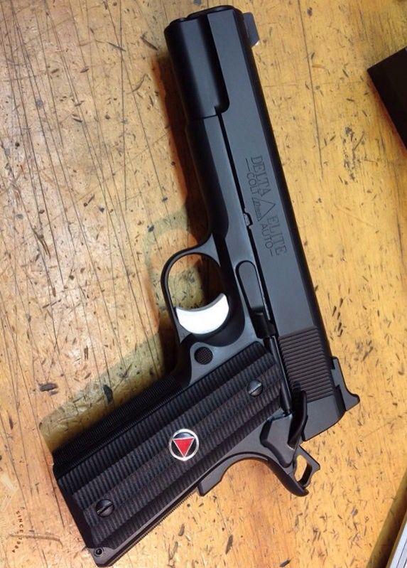Colt 1911 Delta Elite 10MM, Sometimes carried by Luke