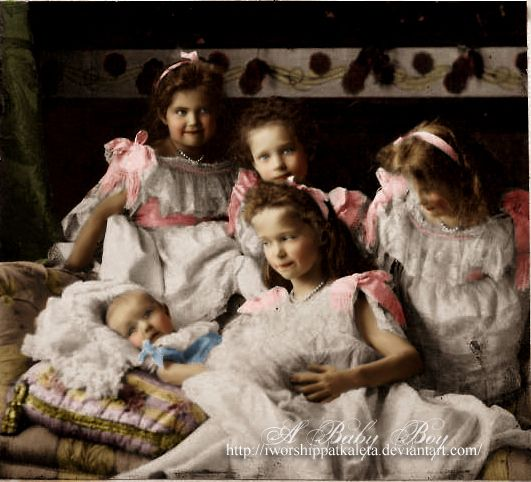 Grand Duchesses Olga, Tatiana, Maria, And Anastasia