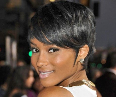 Black Hairstyles 2015 Endearing Short Pixie Haircuts For Black Women  Short Styles For Black Hair