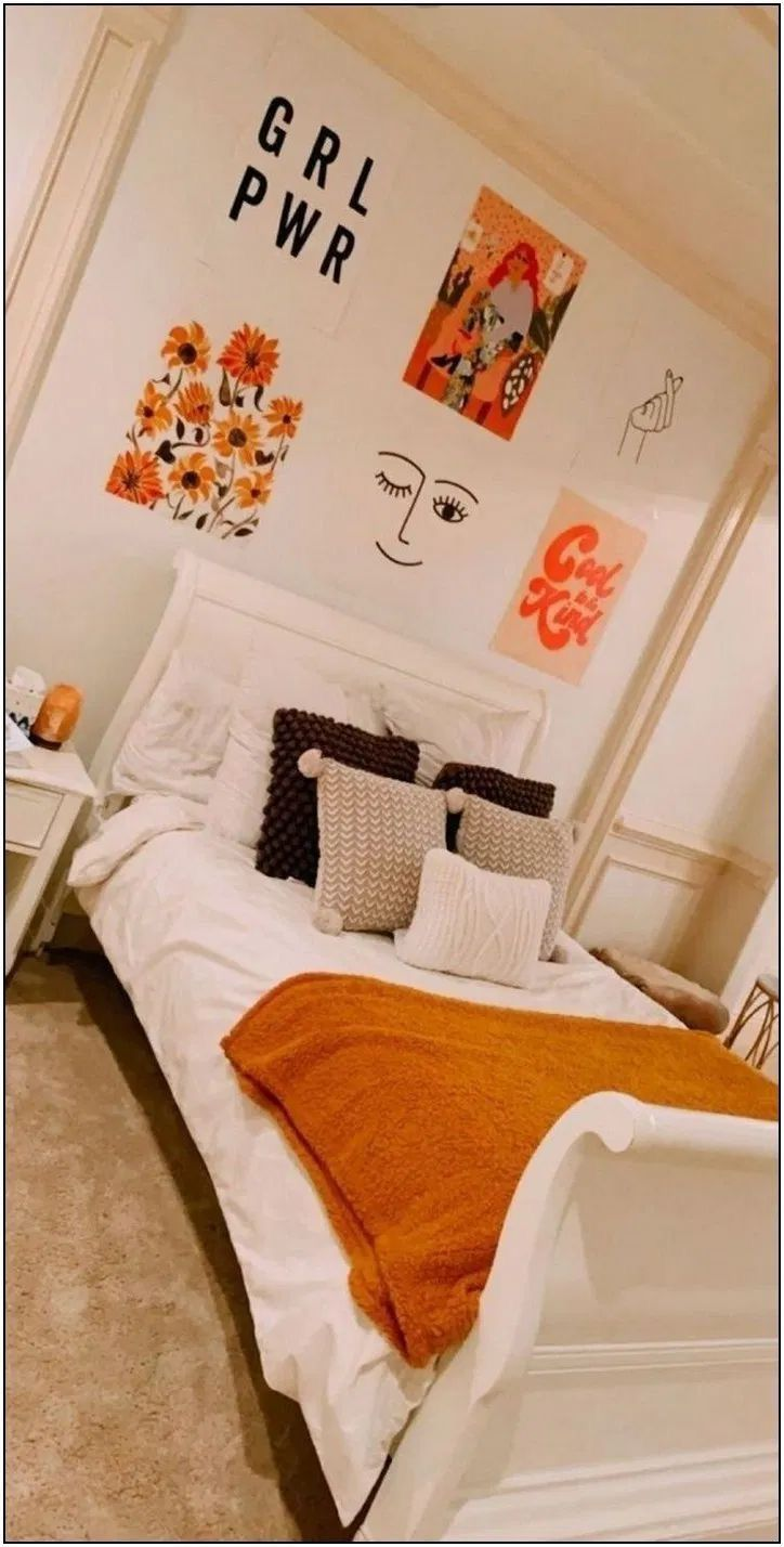 pin🍀 on bedroom ideas. | small room design, dorm room decor, fall bedroom