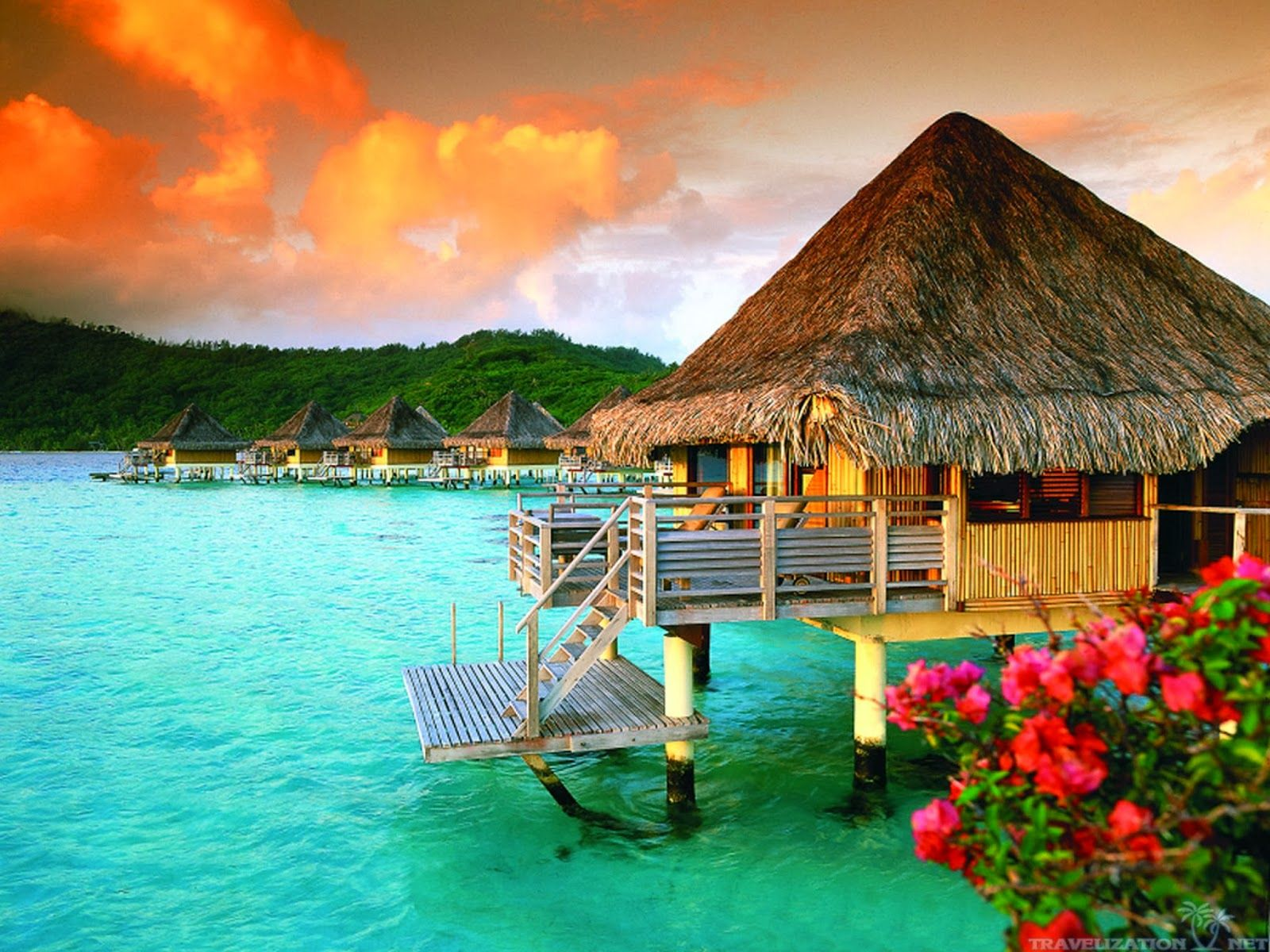 Beauty of Nature Tahiti Islands Resort is a world best