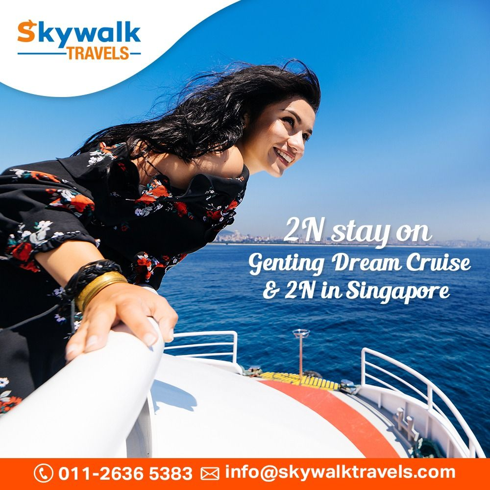 Experience the 2 night stay on the Singapore Genting dream