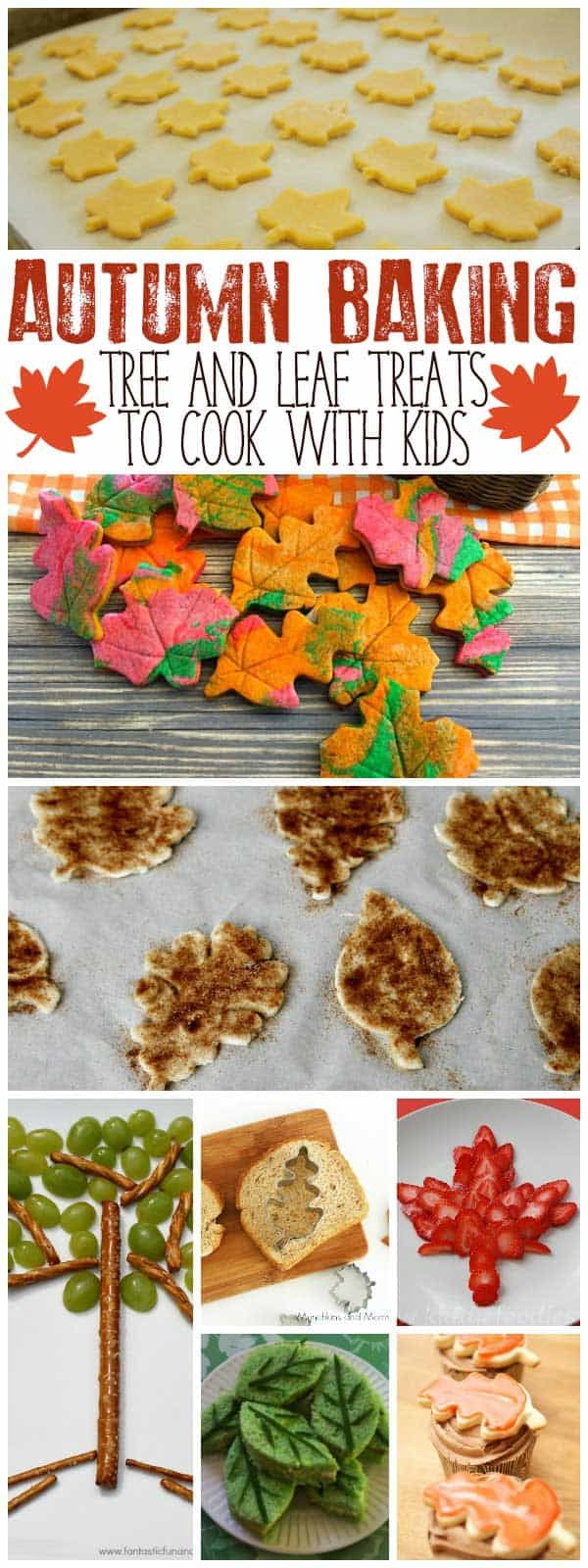 Autumn Cooking With Kids Tree And