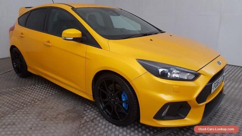 2016 Ford Focus St 3 Turbo 2 0 Petrol 6 Speed Manual Hatchback Rs
