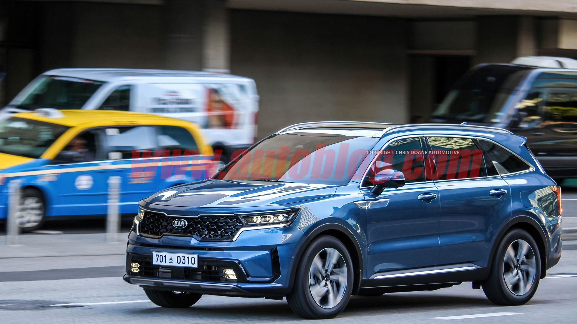 2021 Kia Sorento Caught Ahead Of Its Debut During A Commercial