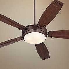 "60"" Kichler Trevor Oil-Brushed Bronze Ceiling Fan"