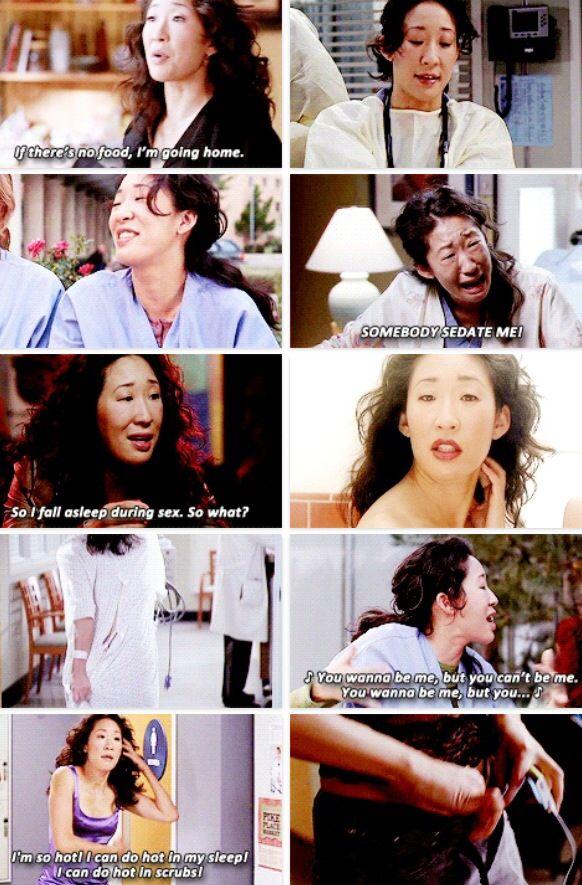 Grey\'s Anatomy - Cristina | Grey\'s Anatomy | Pinterest | Anatomía de ...