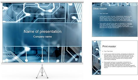 electronic circuit powerpoint template projects to try pinterestelectronic circuit powerpoint template