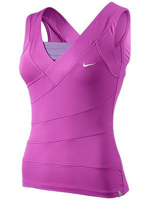 Just like a bandage dress, this tank from Nike is very flattering. $58.00