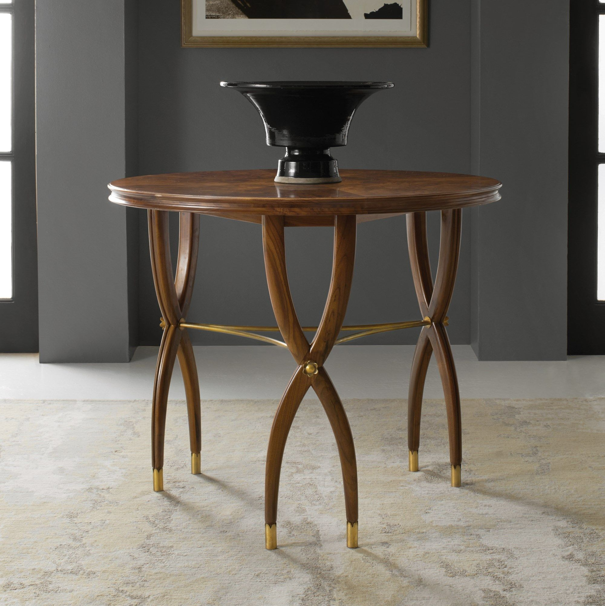 Marchand Center Table End Occasional Tables Modern History