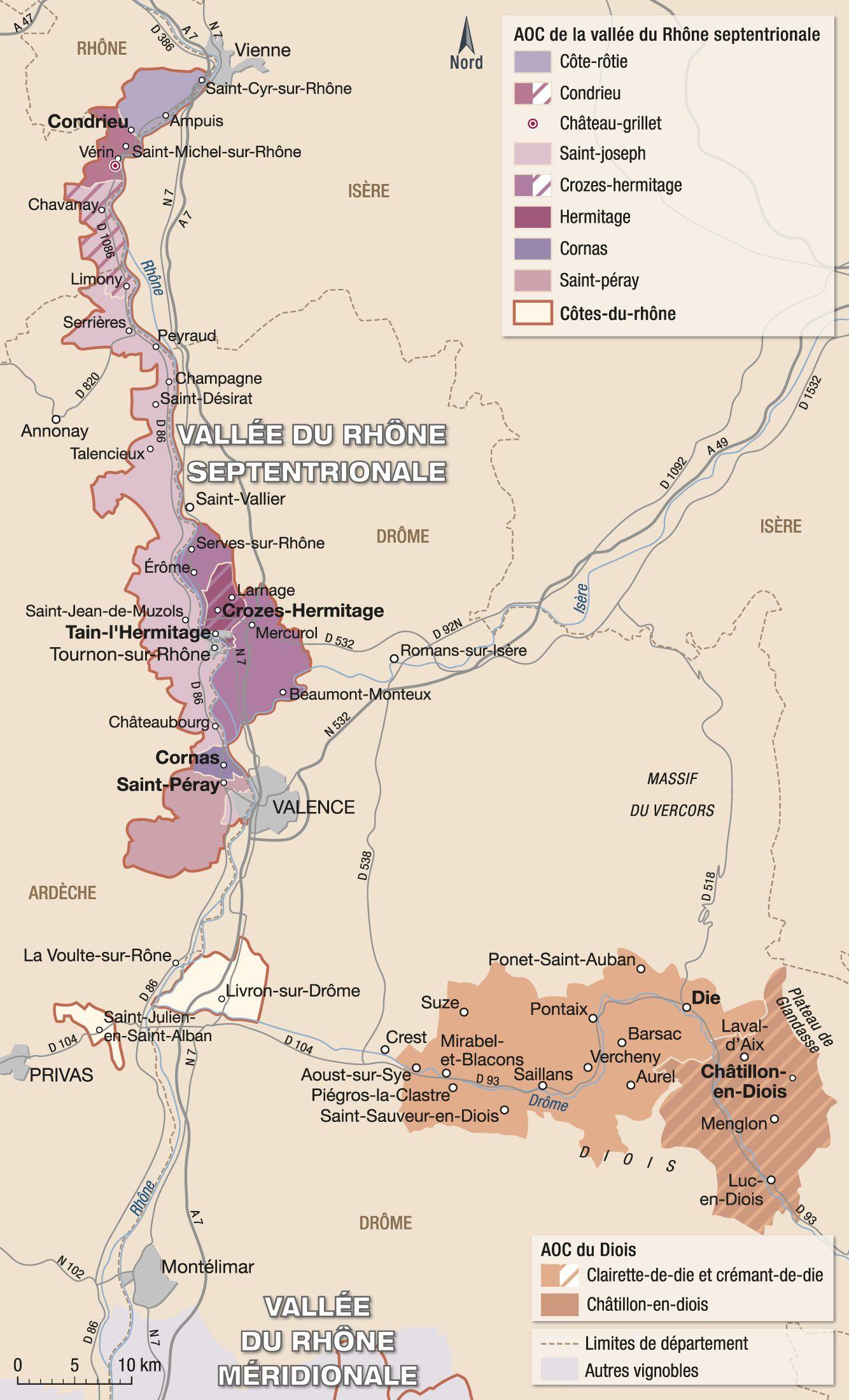 vallée du rhone carte Épinglé par nadine Carton sur boissons en 2020 | Vallée du rhone