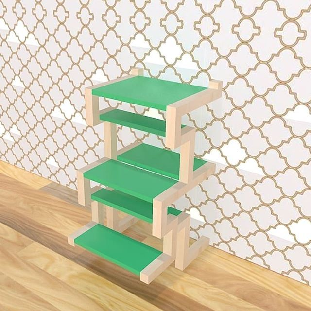 Do you like my work ? The levels #furnituredesign #furniture ...