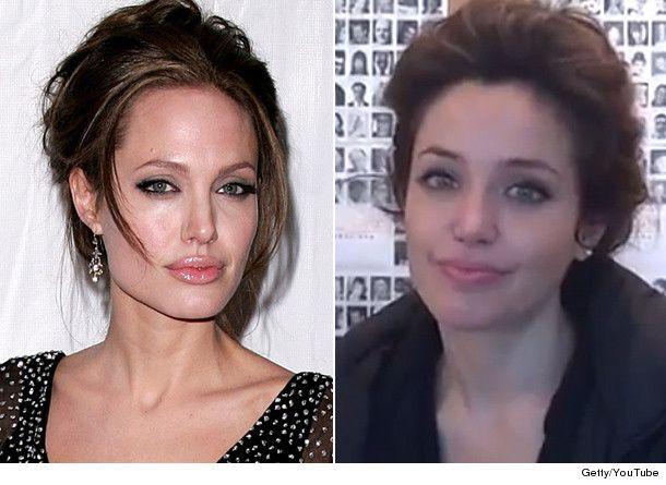 Do You Mean Like Lina Sands, Angelinau0027s Doppelganger?
