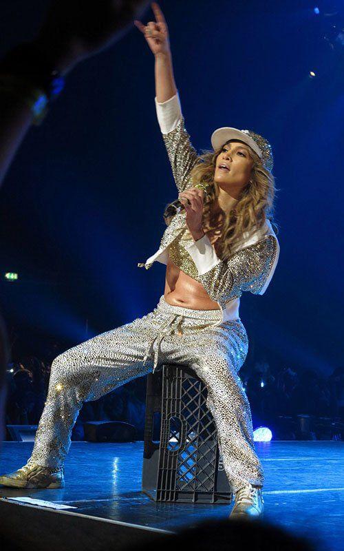 Jennifer Lopez en Londres (23 de octubre). / Jennifer Lopez in London (October 23).