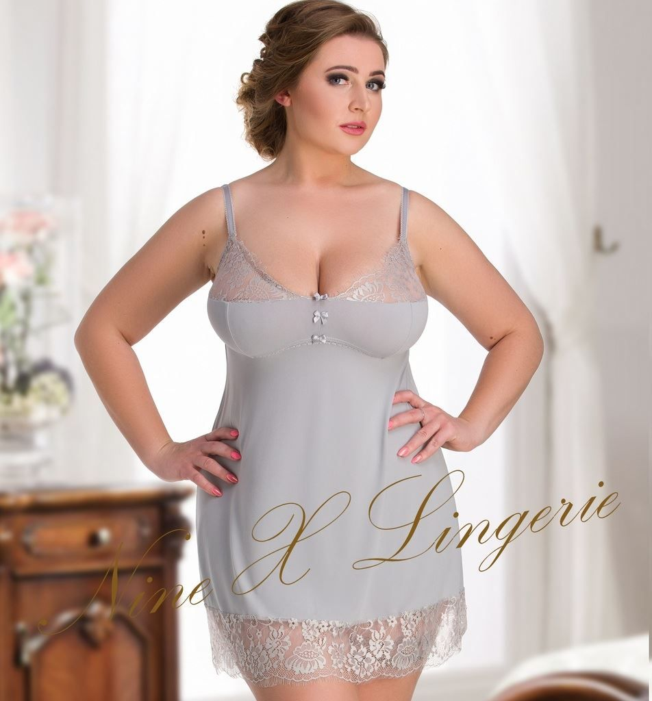 3f151de157b Nine X Ladies Plus Size Lingerie 12-26 L-7XL Babdoll Nightwear Dress ...
