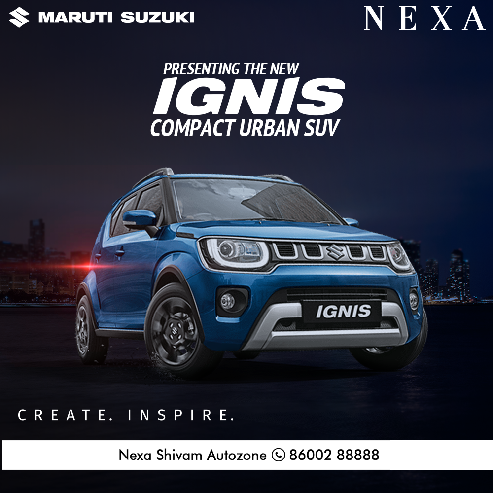 The New Ignis Compact Urban Suv In 2020 Suv Infotainment System Drive Book