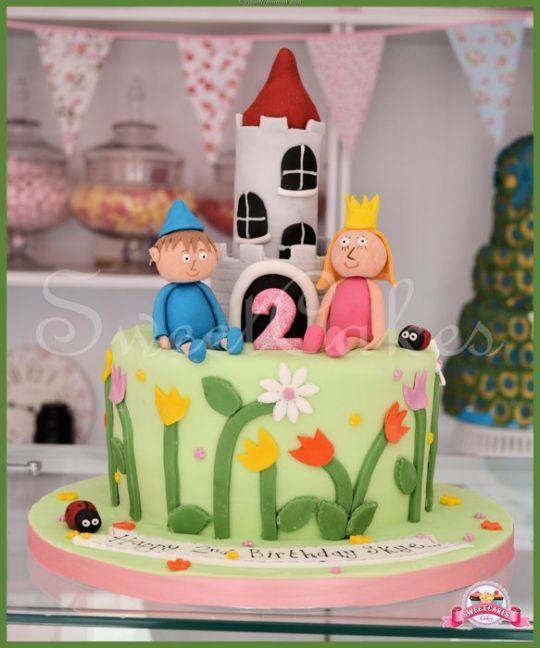 Ben And Holly Cake Google Search Ben And Holly Cake Pinterest