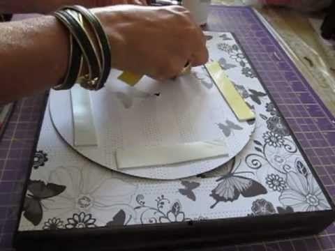 Passo a Passo: Técnica de ScrapDecor - Mansão das Artes - YouTube