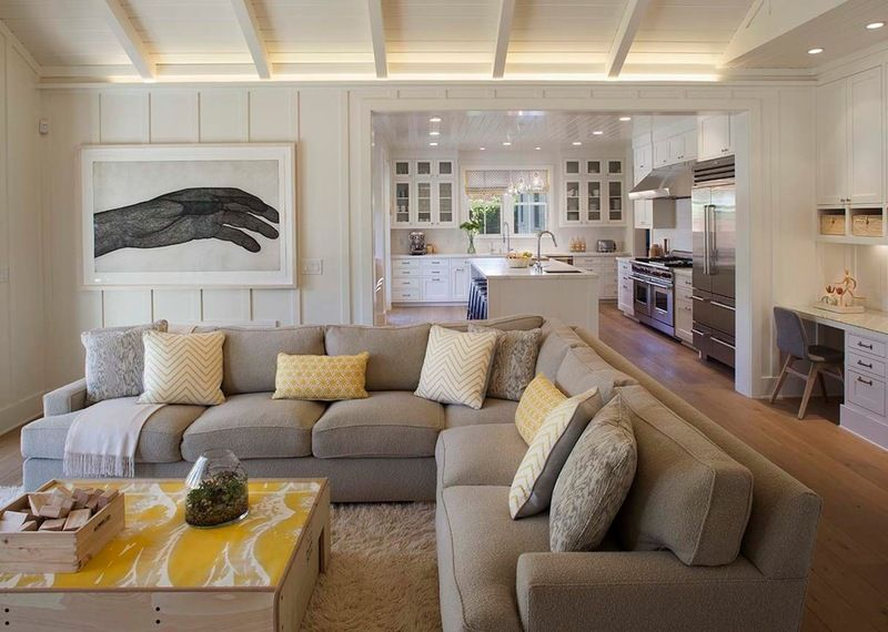 Modern Farmhouse Family Room 2 Love This Layout