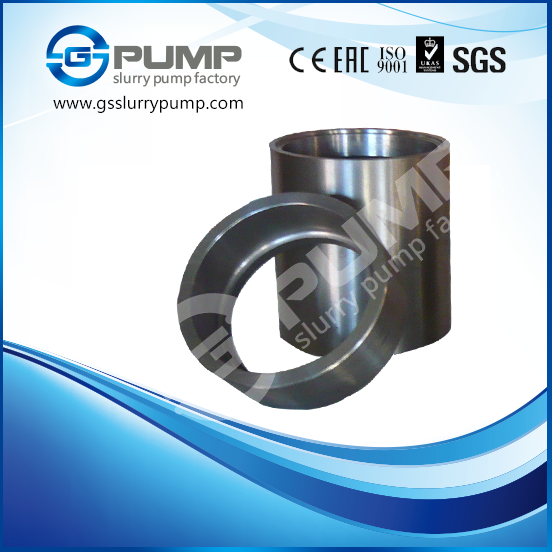 GS PUMP Slurry pump parts include impeller, liner, throatbush, frame