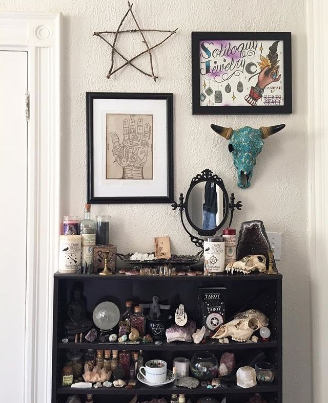 Sacred spaces for Pagan decorations for the home