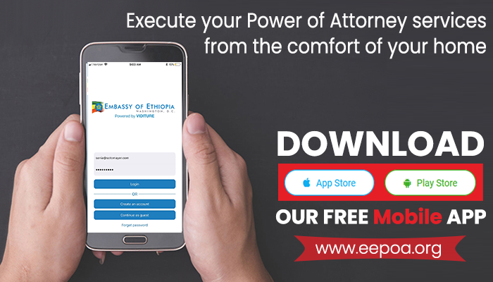 Execute your Power of Attorney services from the comfort
