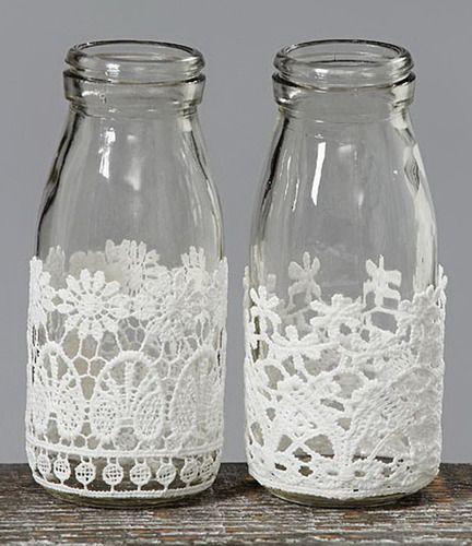 Pin de mabel classen en mio frasco de vidrio decorados for Jarrones de vidrio decorados