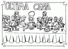 Resultado De Imagen Para Dibujo Para Colorear De La Ultima Cena De Jesus Con Los Apostoles Ultima Cena De Jesus La Ultima Cena Cena