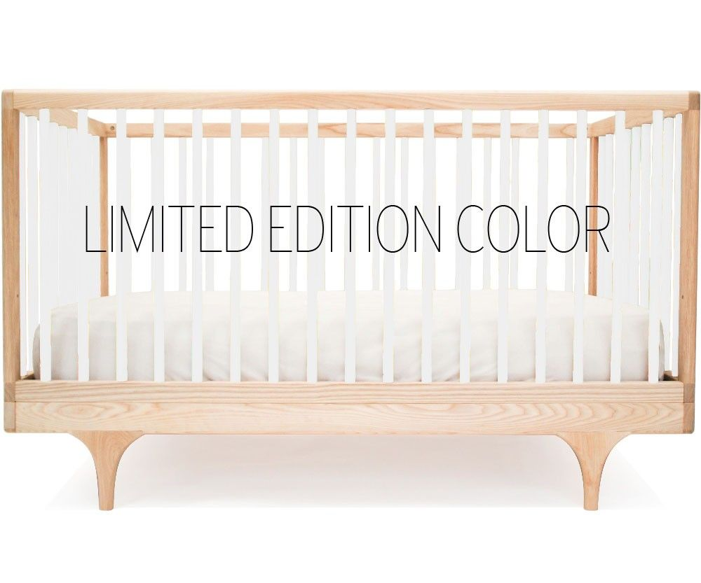 Caravan Crib From Kalon Studios, Converted For Toddler. Made In New  England, FSC Certified Wood, Non Toxic, Food Safe Finishes. $695.00