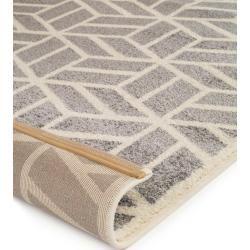 Photo of benuta Kurzflor Teppich Justin Grau 200×290 cm – Moderner Teppich für Wohnzimmer benuta