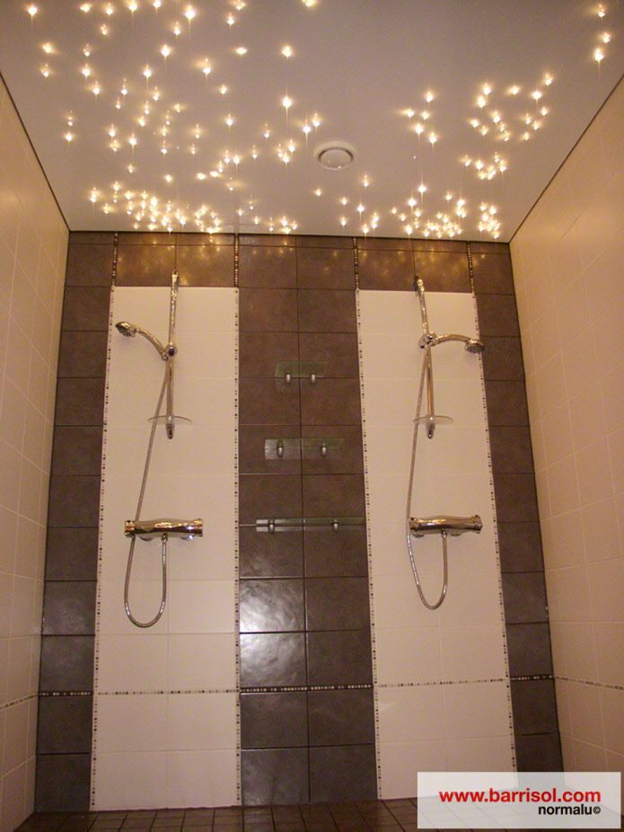 Plafond de salle de bains lumineux un r ve partager 2 for Bandeau lumineux plafond