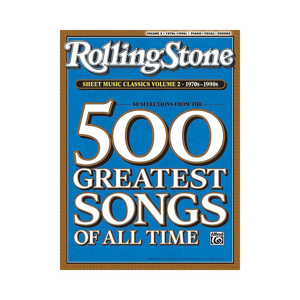 Alfred Rolling Stone Sheet Music Classics Volume 2 1970s 1990s