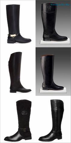 1 95€ Zara Hípica 99 Planas Botas Piel De 2 Negras 8yqxHwvw7t